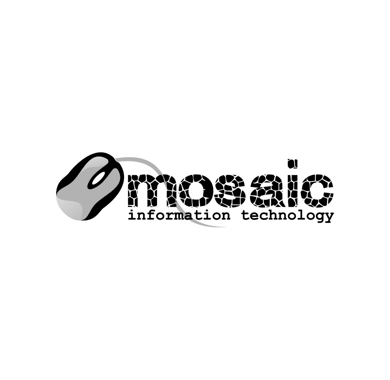 Logo Design by Private User - Entry No. 70 in the Logo Design Contest Mosaic Information Technology Logo Design.