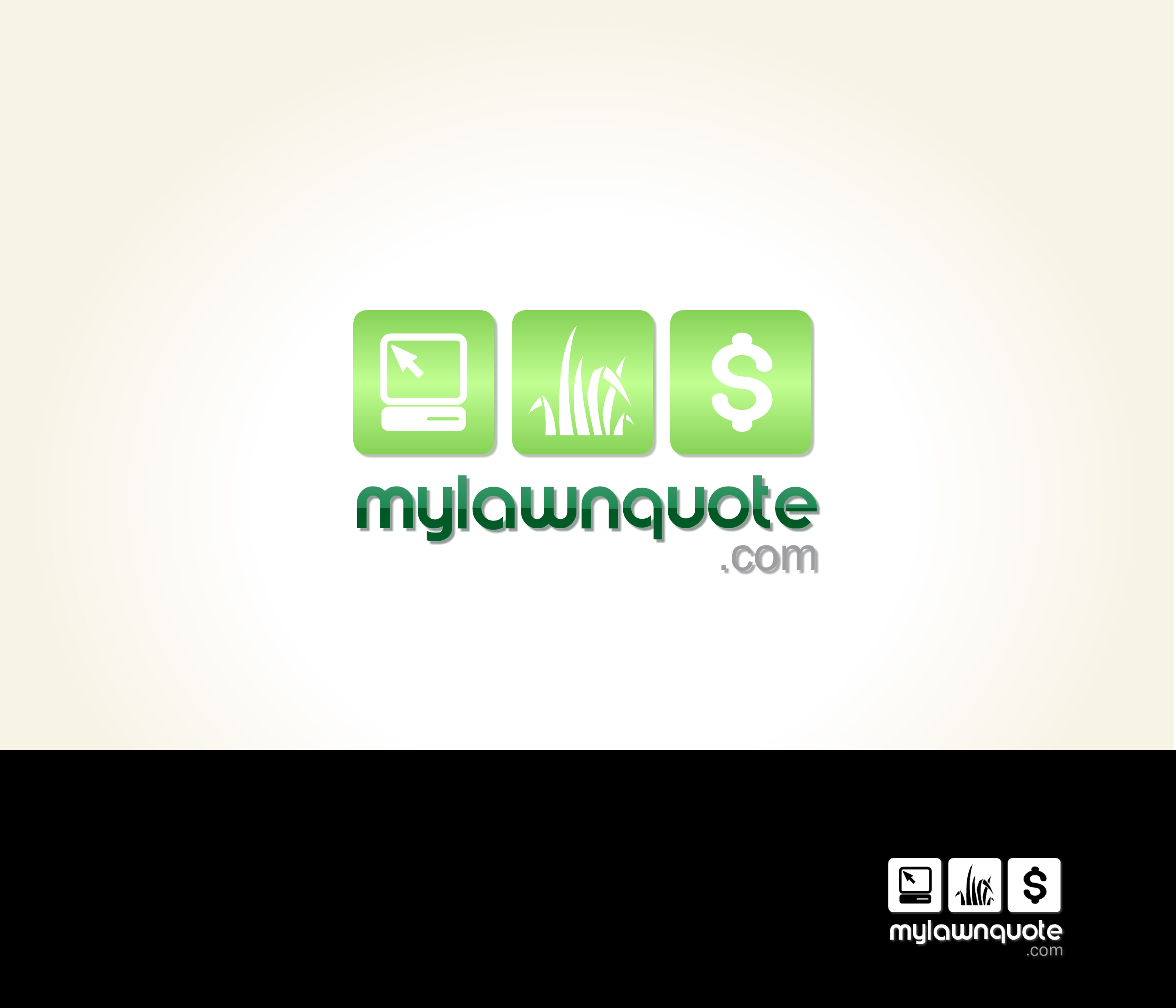 Logo Design by Lara Puno - Entry No. 15 in the Logo Design Contest Logo Design Needed for Exciting New Company mylawnquote.com.