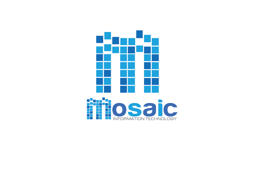 Logo Design by Moin Javed - Entry No. 73 in the Logo Design Contest Mosaic Information Technology Logo Design.