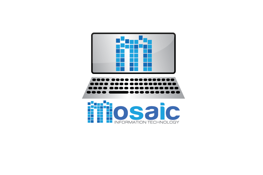 Logo Design by Moin Javed - Entry No. 74 in the Logo Design Contest Mosaic Information Technology Logo Design.
