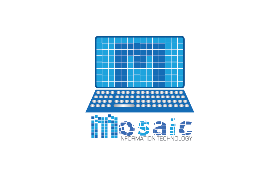 Logo Design by Moin Javed - Entry No. 75 in the Logo Design Contest Mosaic Information Technology Logo Design.