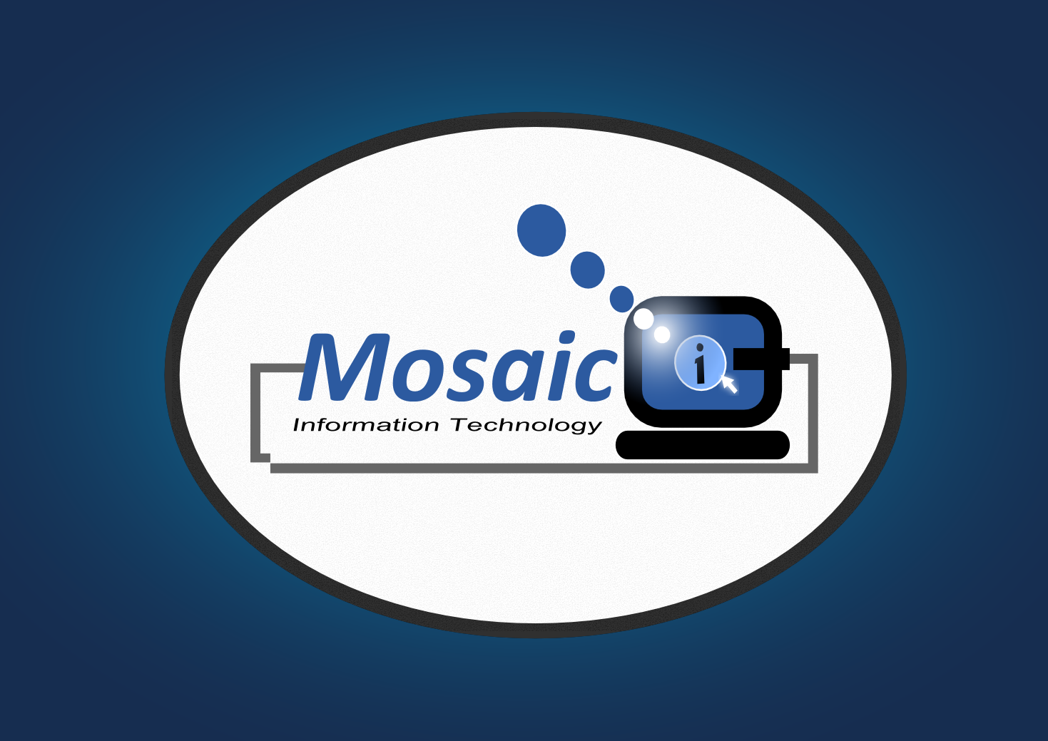 Logo Design by whoosef - Entry No. 77 in the Logo Design Contest Mosaic Information Technology Logo Design.