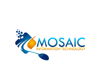 Logo Design by Private User - Entry No. 81 in the Logo Design Contest Mosaic Information Technology Logo Design.
