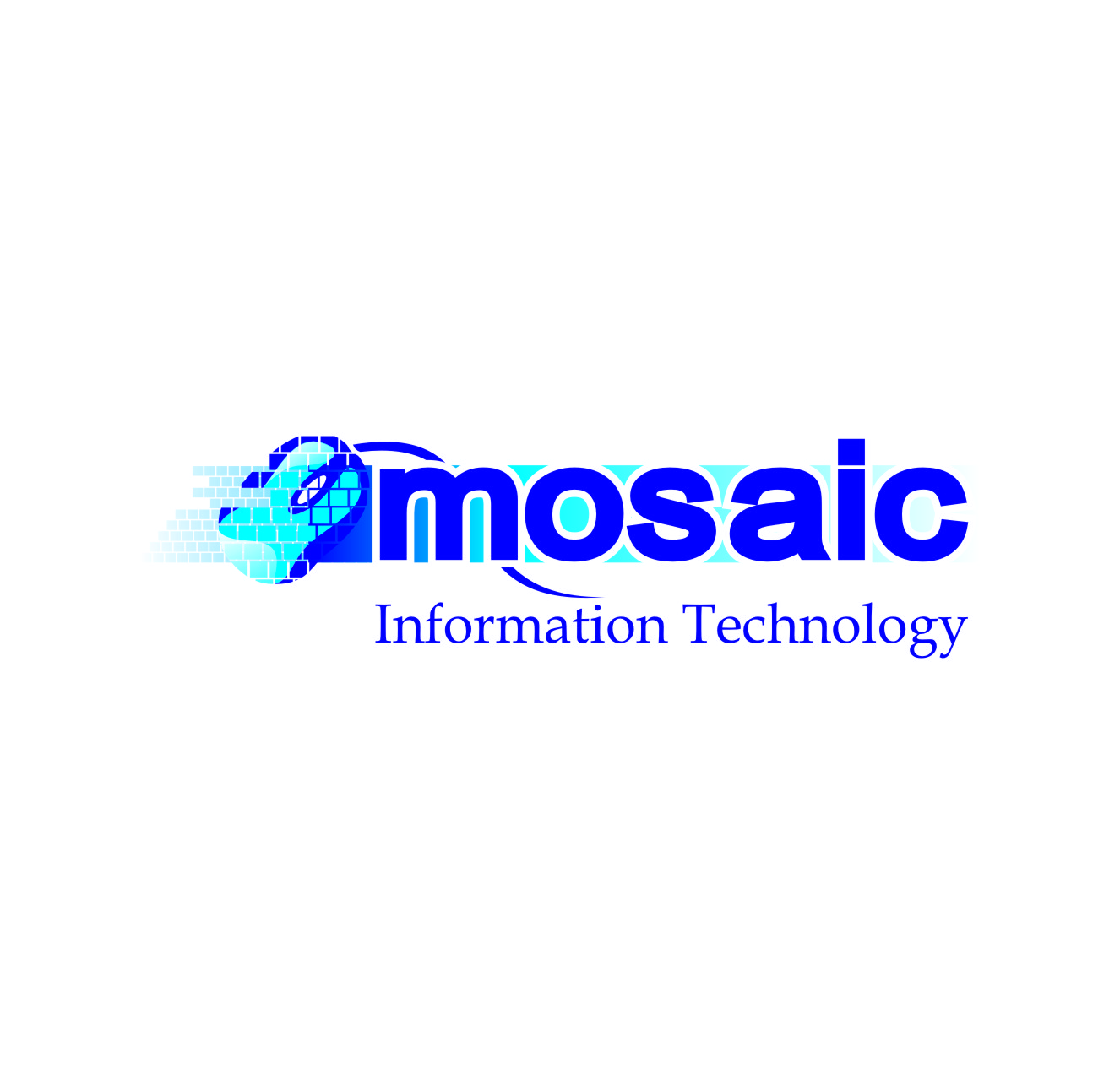 Logo Design by Private User - Entry No. 84 in the Logo Design Contest Mosaic Information Technology Logo Design.