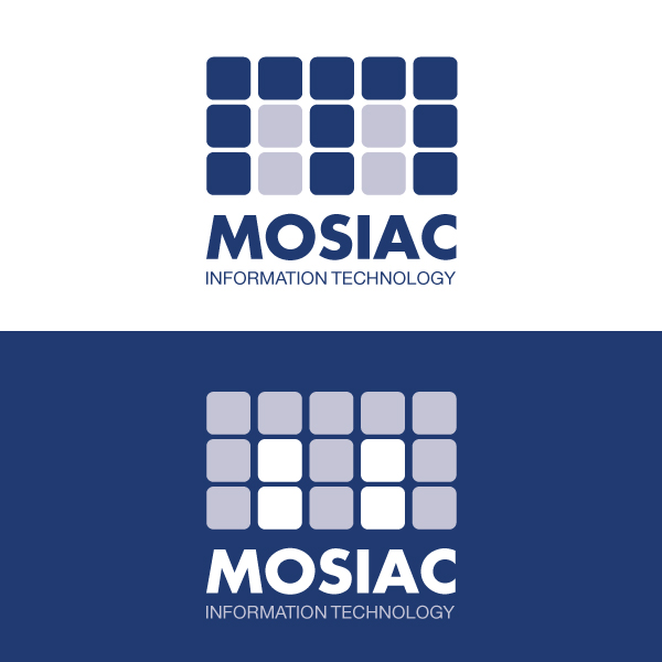 Logo Design by Daniel Bryant - Entry No. 86 in the Logo Design Contest Mosaic Information Technology Logo Design.