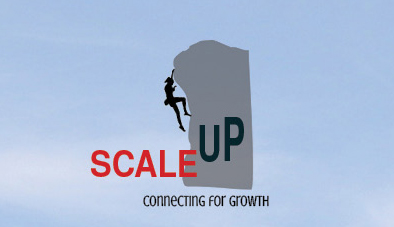 Logo Design by Nancy Grant - Entry No. 18 in the Logo Design Contest Logo Design for scaleUp a consulting & event management company.
