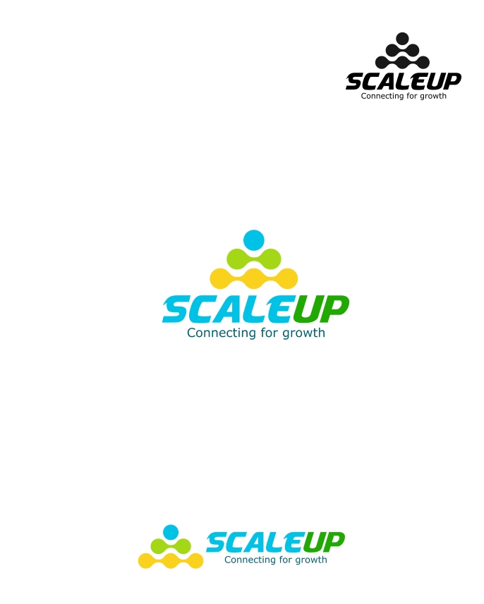 Logo Design by Private User - Entry No. 26 in the Logo Design Contest Logo Design for scaleUp a consulting & event management company.