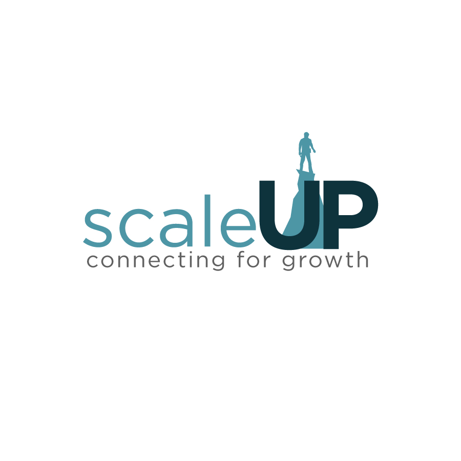 Logo Design by Edward Goodwin - Entry No. 28 in the Logo Design Contest Logo Design for scaleUp a consulting & event management company.