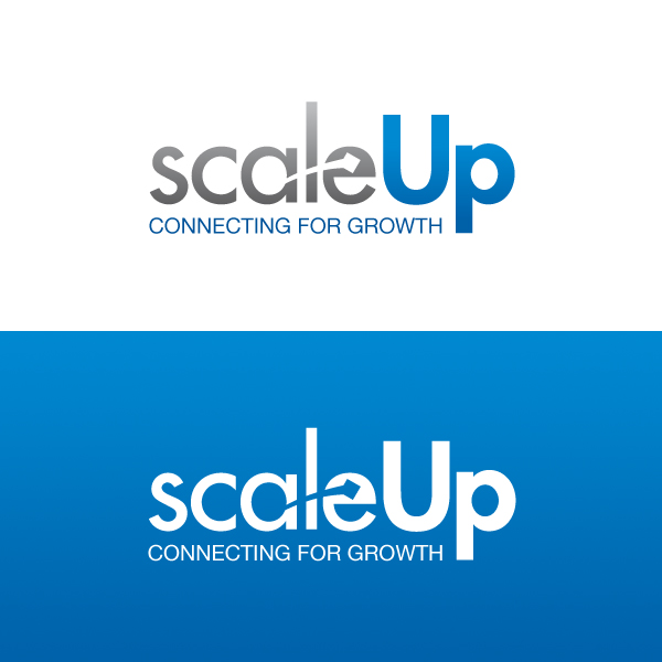 Logo Design by Daniel Bryant - Entry No. 34 in the Logo Design Contest Logo Design for scaleUp a consulting & event management company.