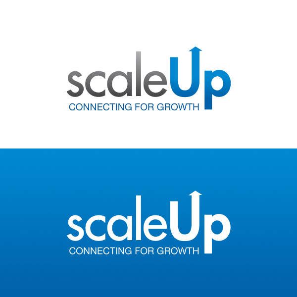 Logo Design by Daniel Bryant - Entry No. 35 in the Logo Design Contest Logo Design for scaleUp a consulting & event management company.