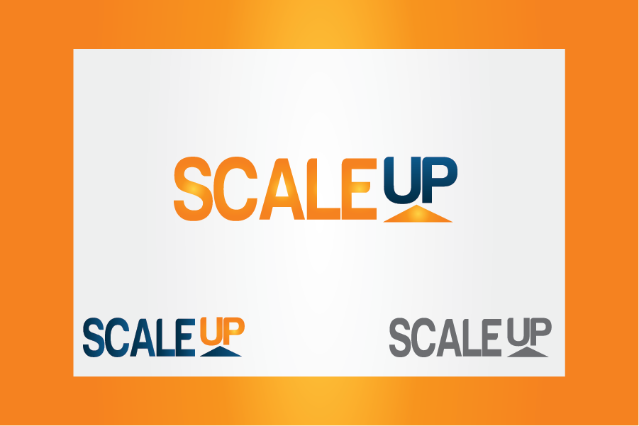 Logo Design by Moin Javed - Entry No. 39 in the Logo Design Contest Logo Design for scaleUp a consulting & event management company.