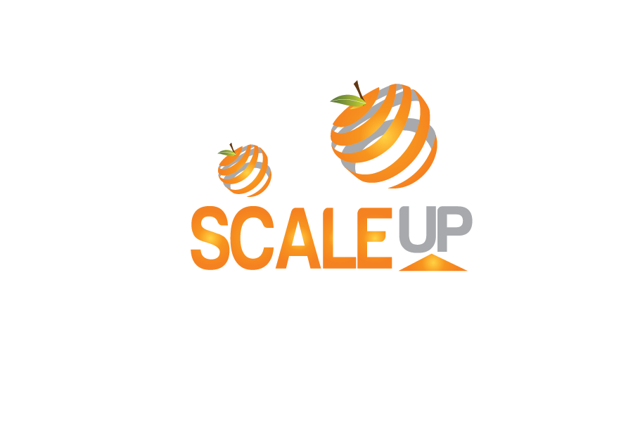 Logo Design by Moin Javed - Entry No. 40 in the Logo Design Contest Logo Design for scaleUp a consulting & event management company.