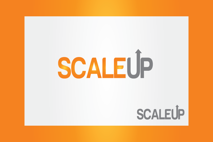 Logo Design by Moin Javed - Entry No. 41 in the Logo Design Contest Logo Design for scaleUp a consulting & event management company.