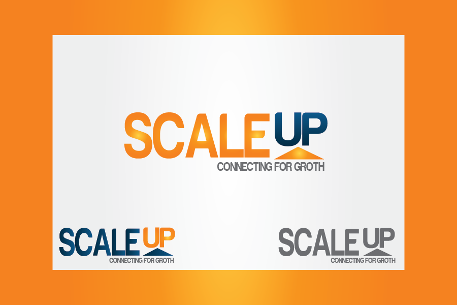 Logo Design by Moin Javed - Entry No. 42 in the Logo Design Contest Logo Design for scaleUp a consulting & event management company.