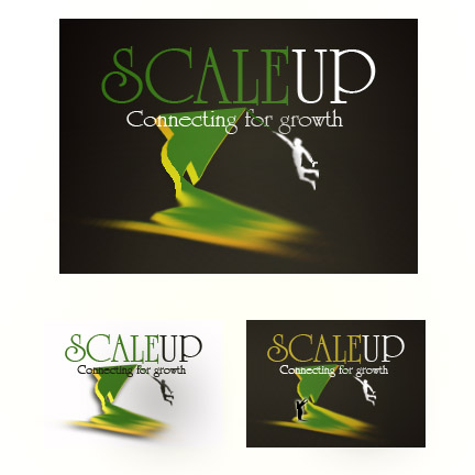 Logo Design by Moag - Entry No. 49 in the Logo Design Contest Logo Design for scaleUp a consulting & event management company.