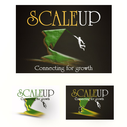 Logo Design by Moag - Entry No. 50 in the Logo Design Contest Logo Design for scaleUp a consulting & event management company.