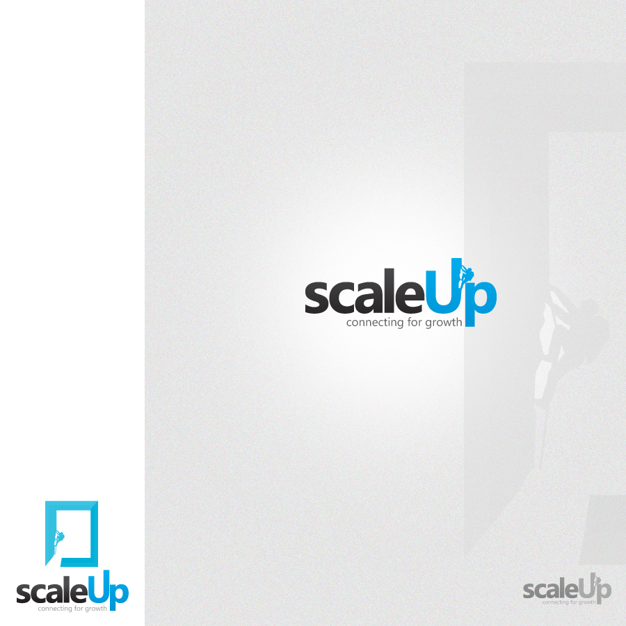 Logo Design by rockpinoy - Entry No. 64 in the Logo Design Contest Logo Design for scaleUp a consulting & event management company.