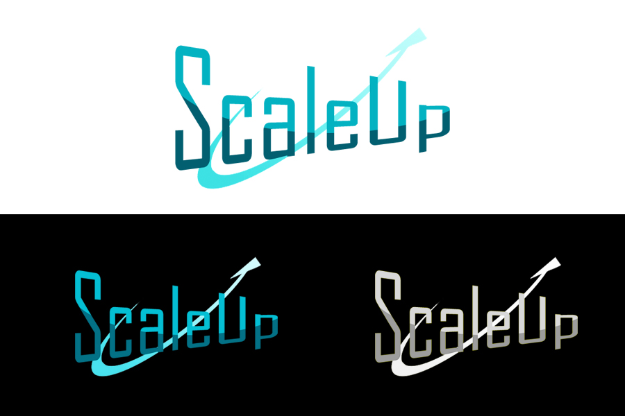 Logo Design by Private User - Entry No. 67 in the Logo Design Contest Logo Design for scaleUp a consulting & event management company.