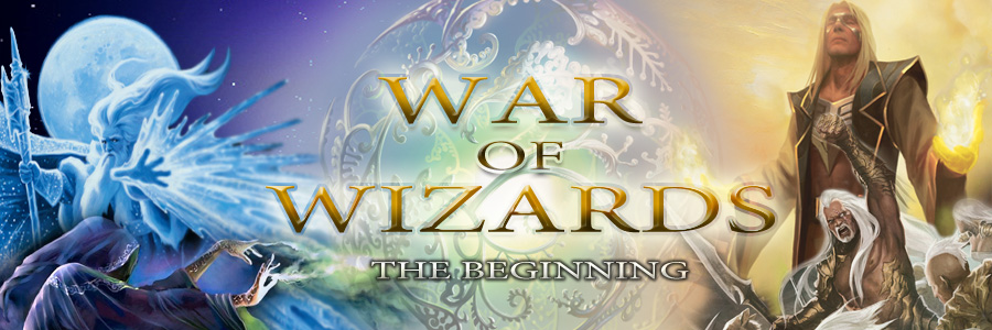 Banner Ad Design by kowreck - Entry No. 80 in the Banner Ad Design Contest Banner Ad Design - War of Wizards (fantasy game).