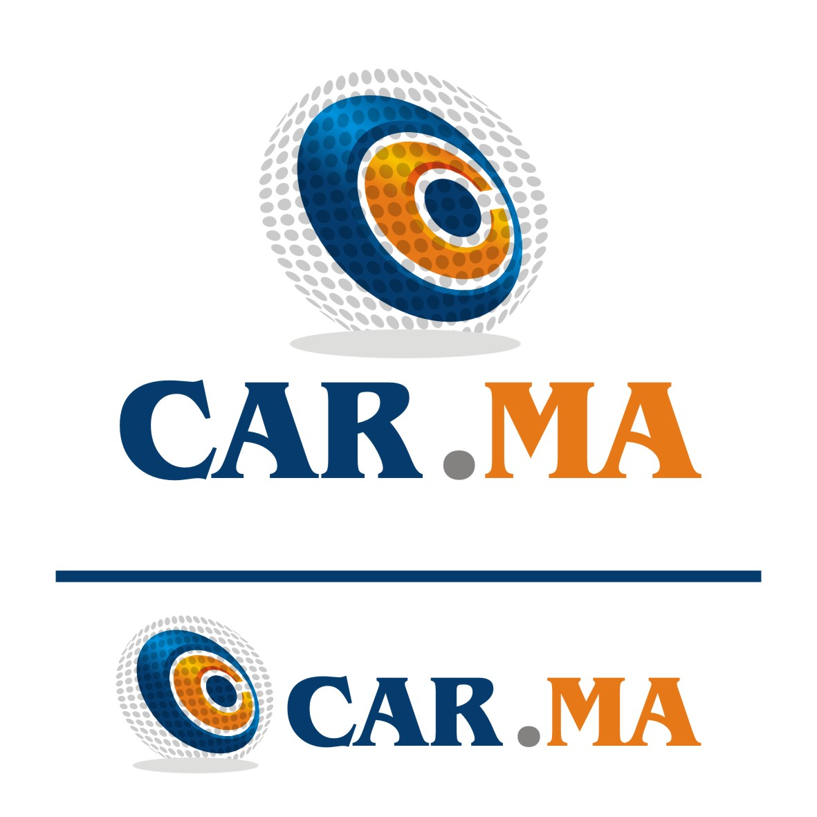 Logo Design by arteo_design - Entry No. 179 in the Logo Design Contest New Logo Design for car.ma.