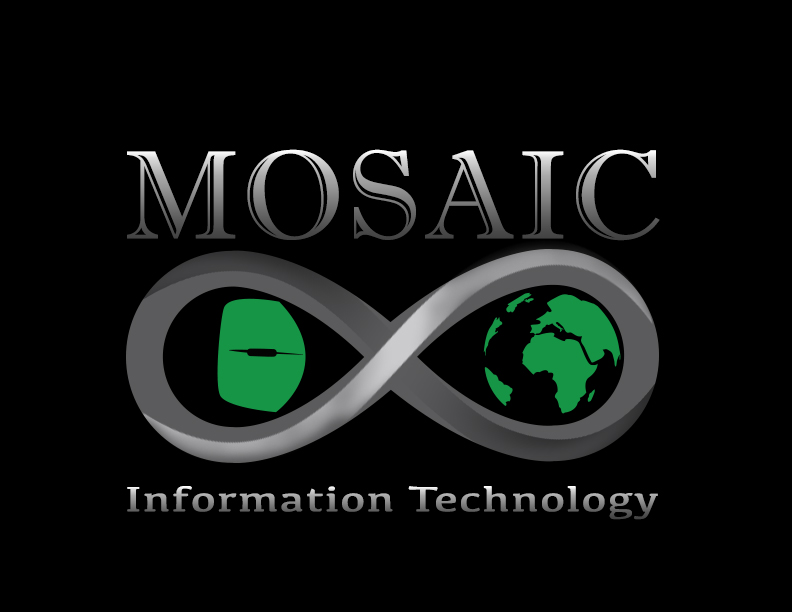 Logo Design by Jacey Cruz - Entry No. 63 in the Logo Design Contest Mosaic Information Technology Logo Design.
