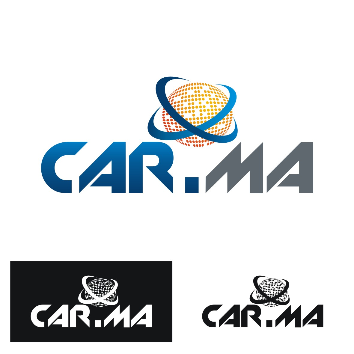 Logo Design by arteo_design - Entry No. 148 in the Logo Design Contest New Logo Design for car.ma.