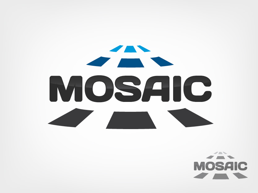 Logo Design by Private User - Entry No. 66 in the Logo Design Contest Mosaic Information Technology Logo Design.