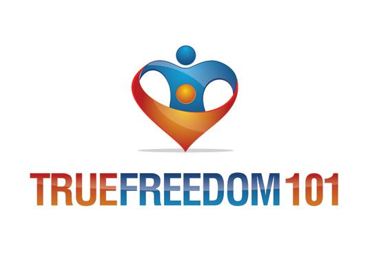 Logo Design by Private User - Entry No. 2 in the Logo Design Contest www.TrueFreedom101.com Logo Design.