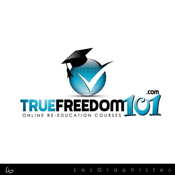 Logo Design by Les-Graphistes - Entry No. 17 in the Logo Design Contest www.TrueFreedom101.com Logo Design.