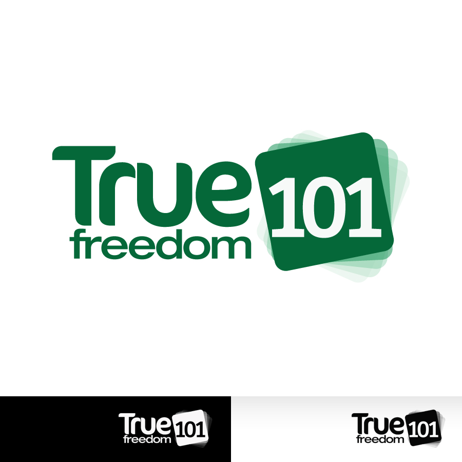 Logo Design by Edward Goodwin - Entry No. 19 in the Logo Design Contest www.TrueFreedom101.com Logo Design.