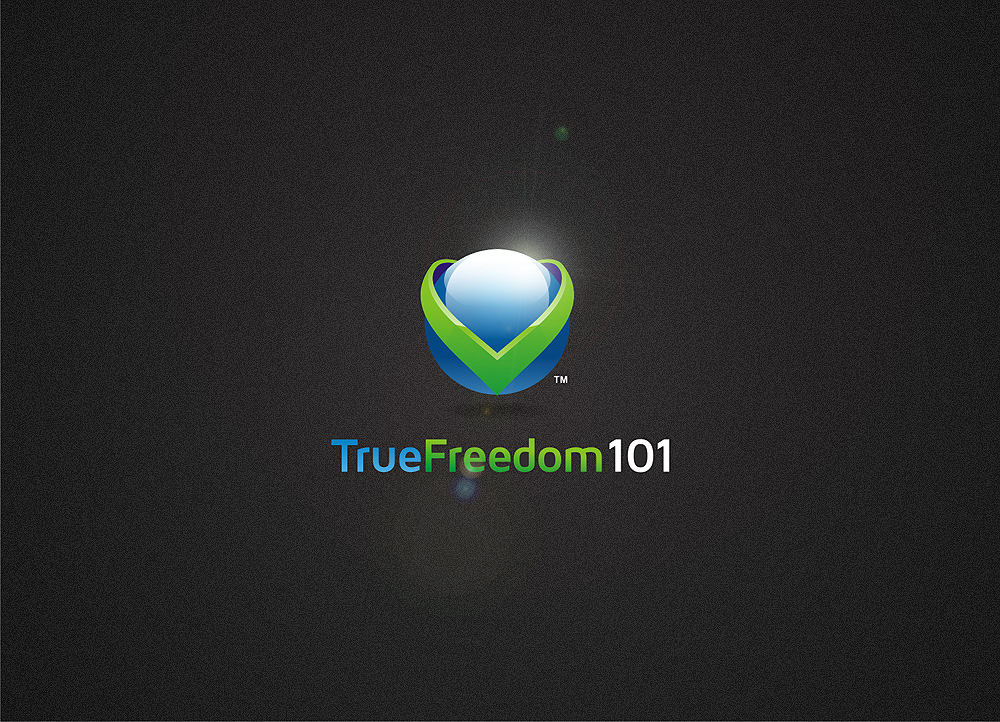 Logo Design by Private User - Entry No. 20 in the Logo Design Contest www.TrueFreedom101.com Logo Design.