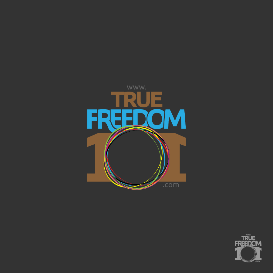 Logo Design by zesthar - Entry No. 32 in the Logo Design Contest www.TrueFreedom101.com Logo Design.