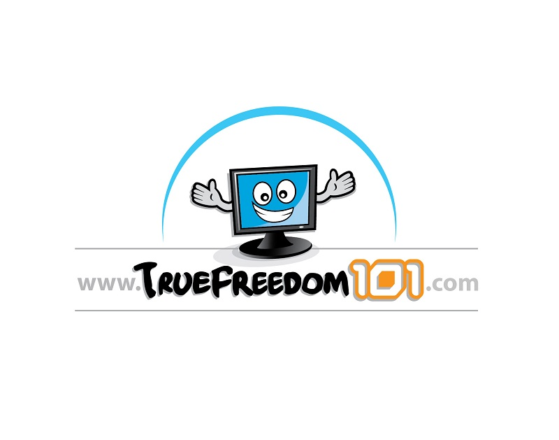 Logo Design by kowreck - Entry No. 45 in the Logo Design Contest www.TrueFreedom101.com Logo Design.