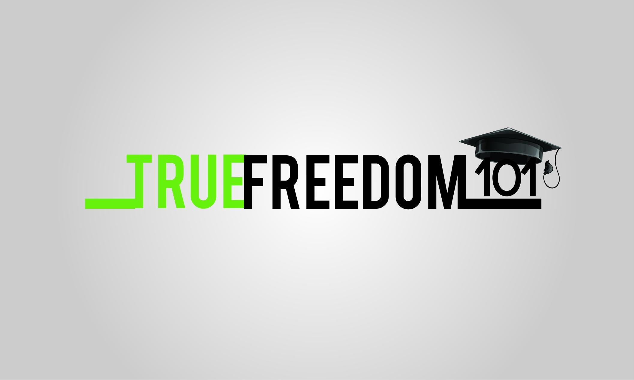 Logo Design by Jan Chua - Entry No. 46 in the Logo Design Contest www.TrueFreedom101.com Logo Design.