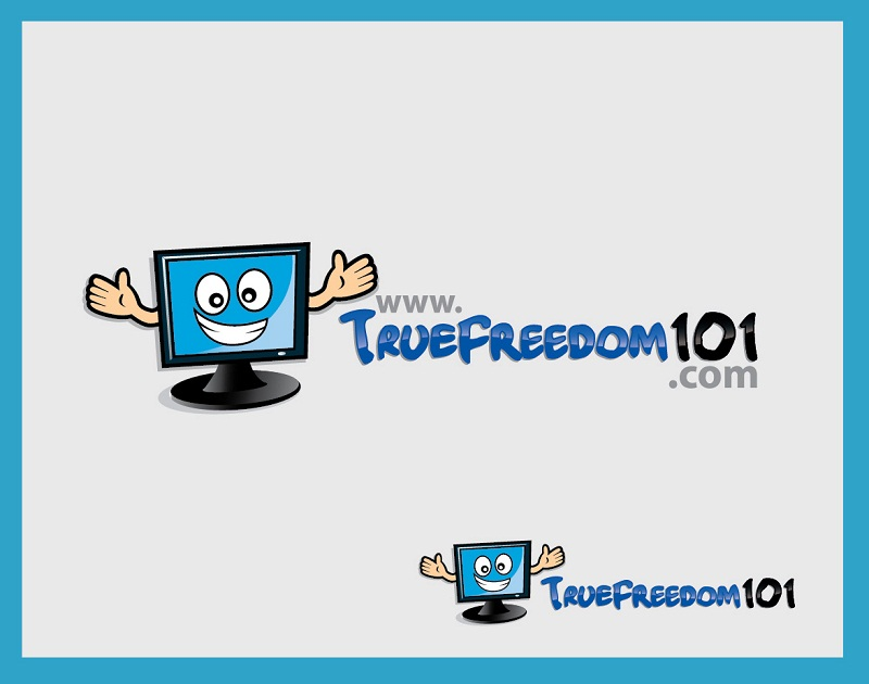 Logo Design by kowreck - Entry No. 47 in the Logo Design Contest www.TrueFreedom101.com Logo Design.