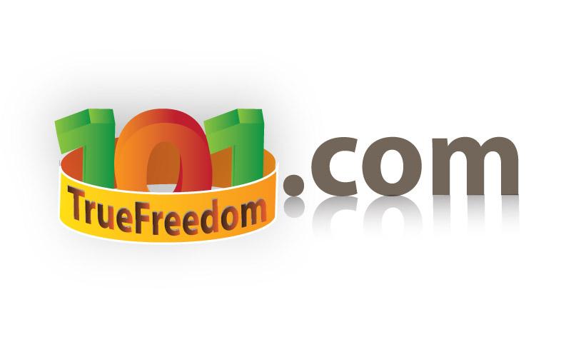 Logo Design by Ladilon Tugas - Entry No. 48 in the Logo Design Contest www.TrueFreedom101.com Logo Design.