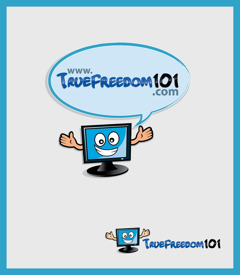 Logo Design by kowreck - Entry No. 50 in the Logo Design Contest www.TrueFreedom101.com Logo Design.