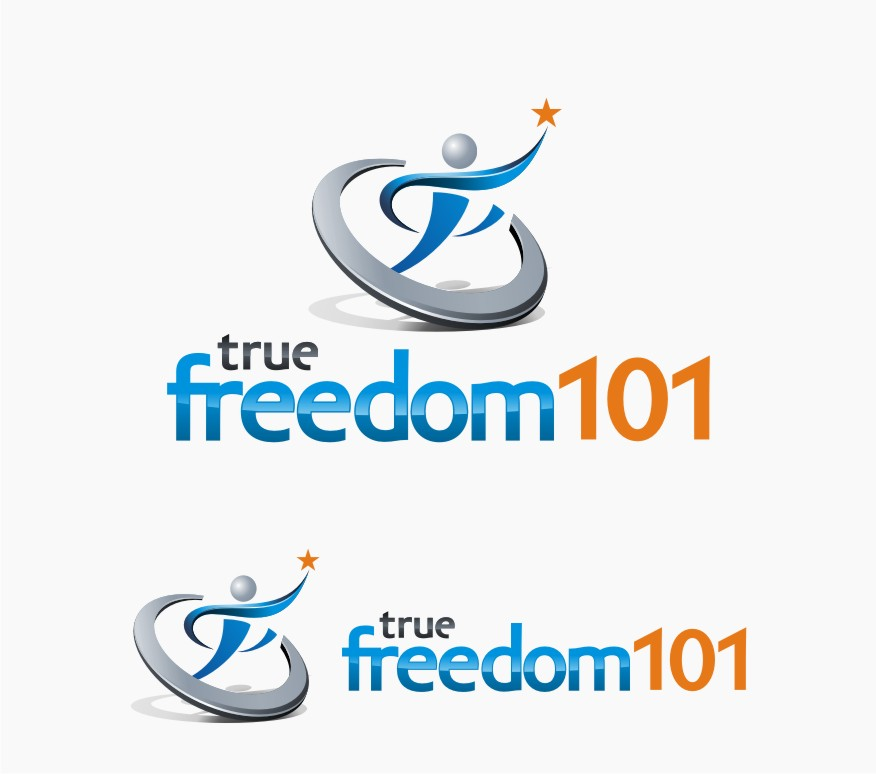 Logo Design by graphicleaf - Entry No. 54 in the Logo Design Contest www.TrueFreedom101.com Logo Design.