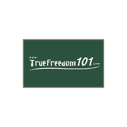 Logo Design by Rudy - Entry No. 55 in the Logo Design Contest www.TrueFreedom101.com Logo Design.