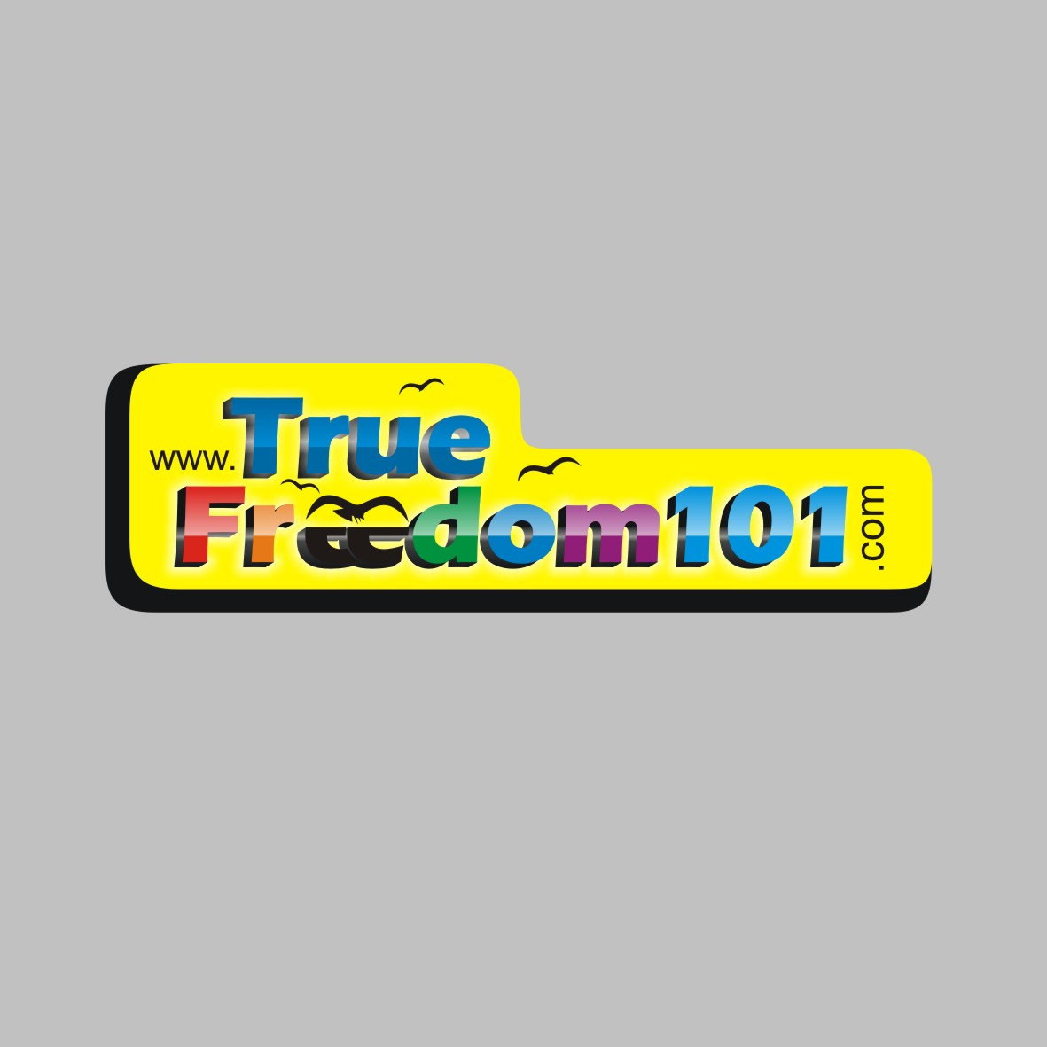 Logo Design by arteo_design - Entry No. 70 in the Logo Design Contest www.TrueFreedom101.com Logo Design.