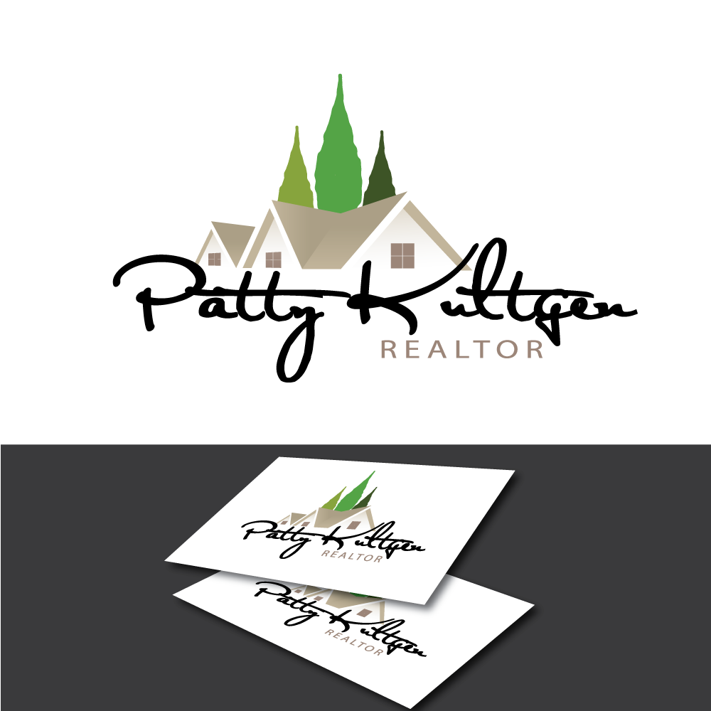 Logo Design by rockin - Entry No. 1 in the Logo Design Contest Logo Design Needed for Exciting New Company Patricia Kultgen Realtor.