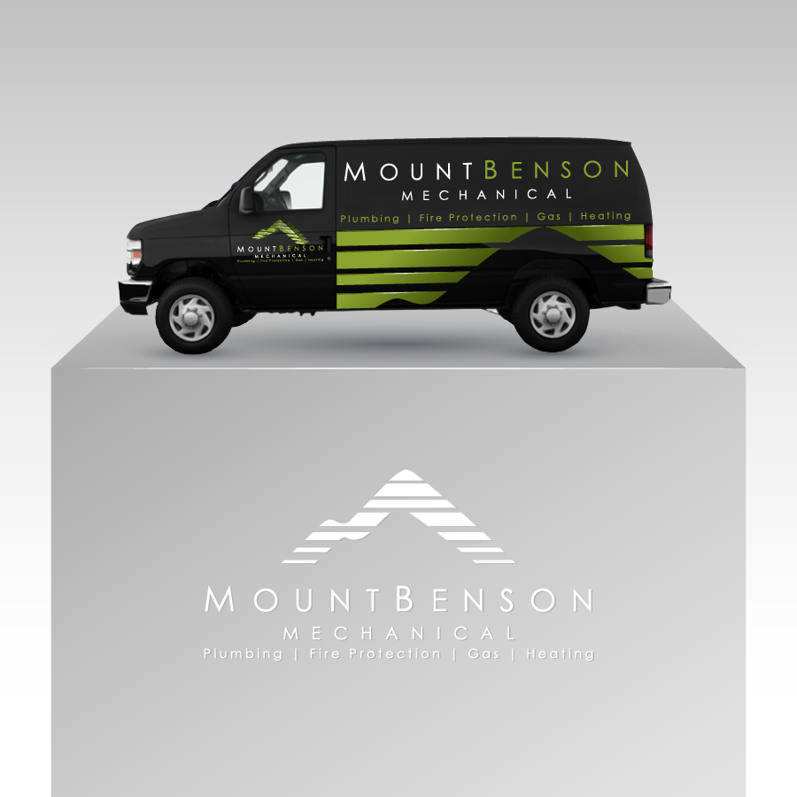 Custom Design by zesthar - Entry No. 55 in the Custom Design Contest Service Vehicle Signage Graphic for Mt. Benson Mechanical (1991) Ltd..