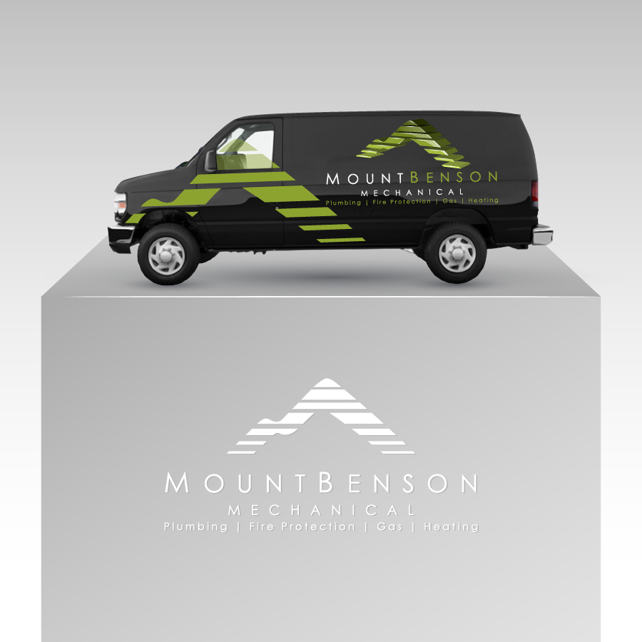 Custom Design by zesthar - Entry No. 56 in the Custom Design Contest Service Vehicle Signage Graphic for Mt. Benson Mechanical (1991) Ltd..
