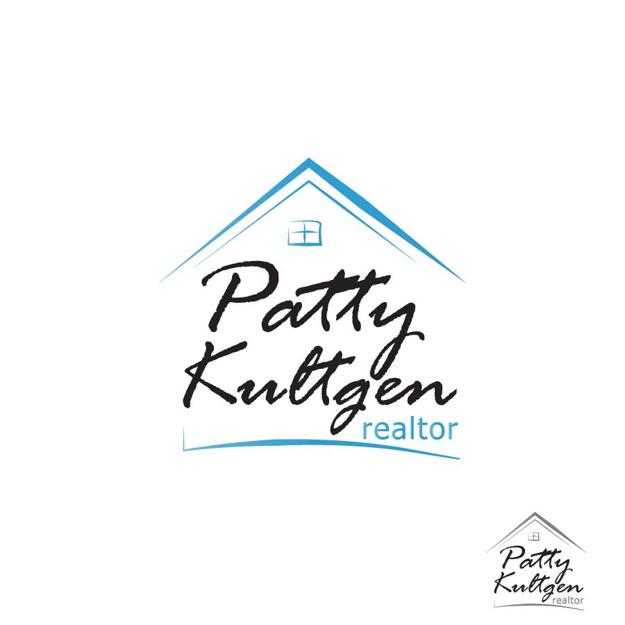 Logo Design by Edward Goodwin - Entry No. 6 in the Logo Design Contest Logo Design Needed for Exciting New Company Patricia Kultgen Realtor.