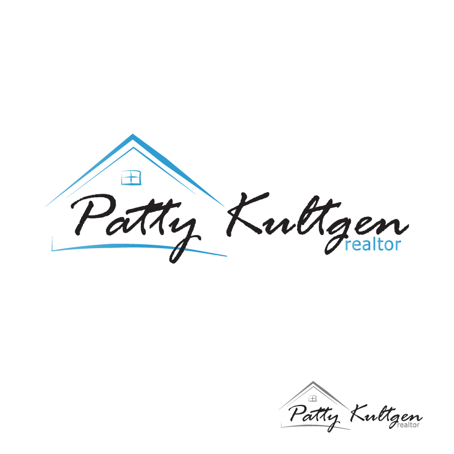 Logo Design by Edward Goodwin - Entry No. 7 in the Logo Design Contest Logo Design Needed for Exciting New Company Patricia Kultgen Realtor.