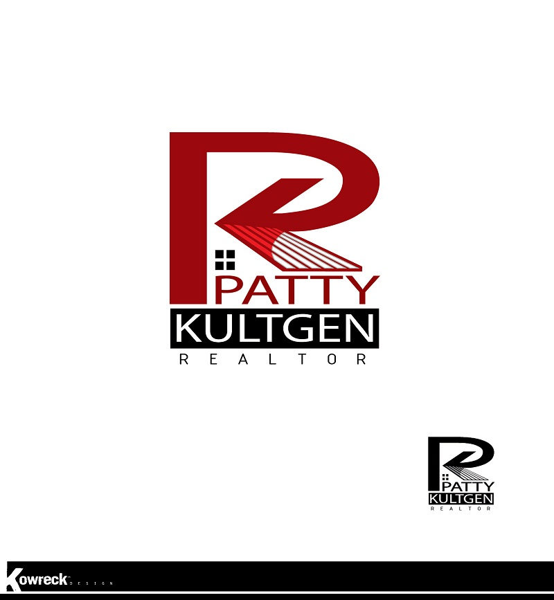 Logo Design by kowreck - Entry No. 10 in the Logo Design Contest Logo Design Needed for Exciting New Company Patricia Kultgen Realtor.