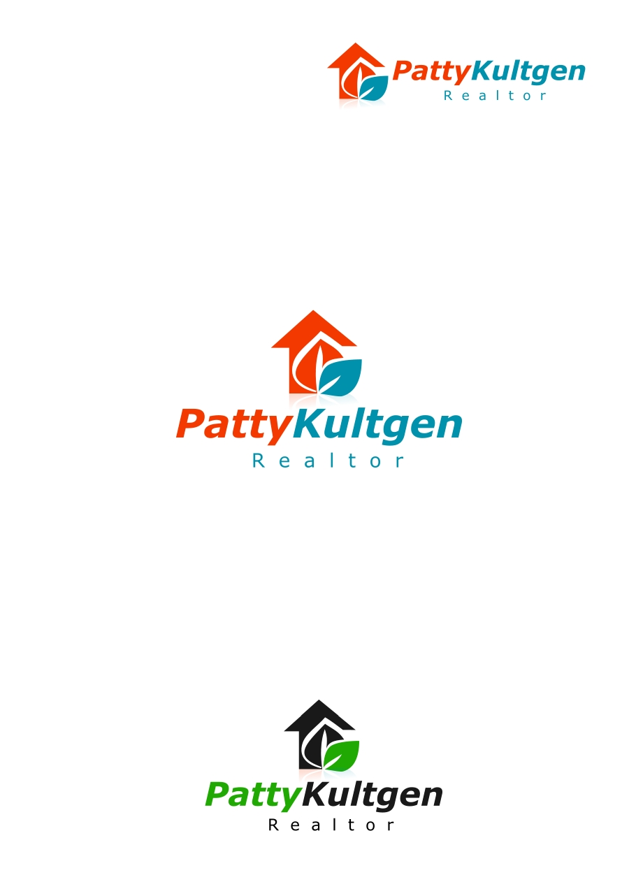 Logo Design by Private User - Entry No. 13 in the Logo Design Contest Logo Design Needed for Exciting New Company Patricia Kultgen Realtor.