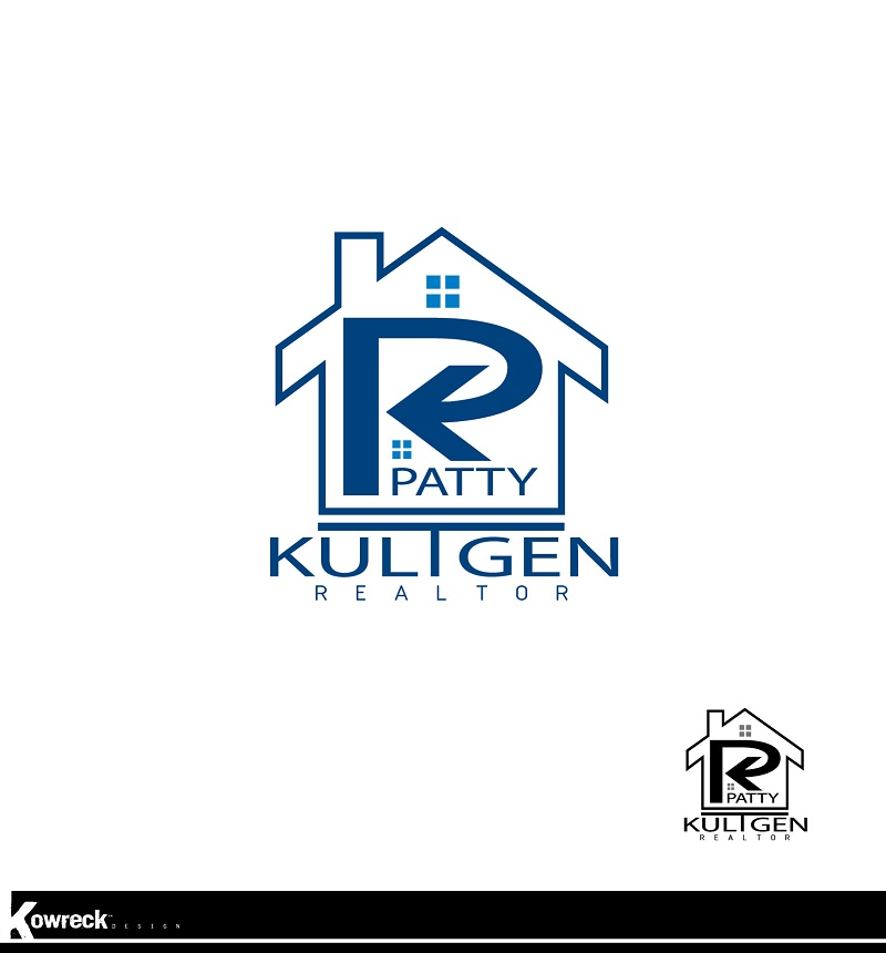 Logo Design by kowreck - Entry No. 14 in the Logo Design Contest Logo Design Needed for Exciting New Company Patricia Kultgen Realtor.