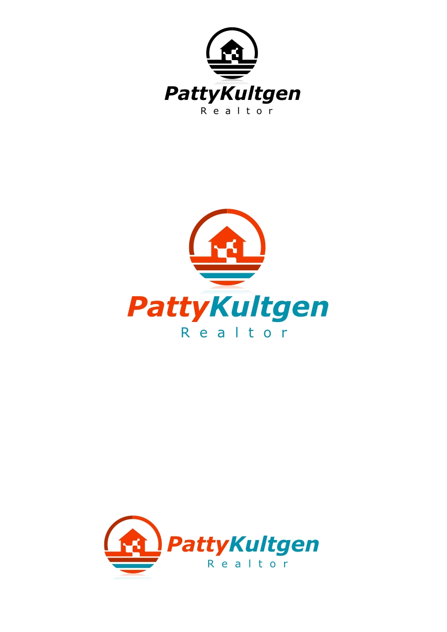 Logo Design by Private User - Entry No. 15 in the Logo Design Contest Logo Design Needed for Exciting New Company Patricia Kultgen Realtor.