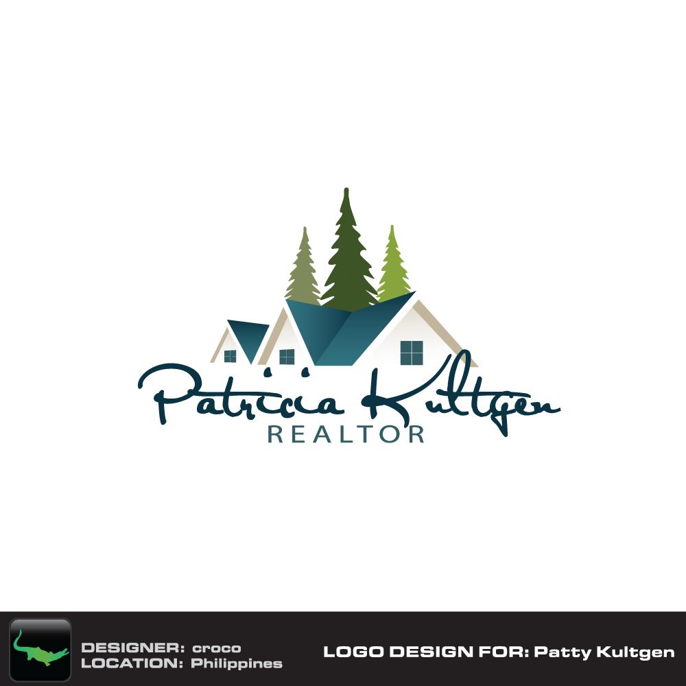 Logo Design by rockin - Entry No. 19 in the Logo Design Contest Logo Design Needed for Exciting New Company Patricia Kultgen Realtor.